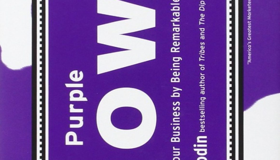 BOOK REVIEW: Purple Cow by Seth Godin