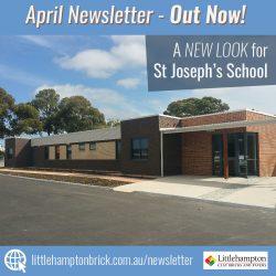 Littlehampton Brick Co April 2017 Newsletter Cover design