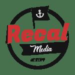 recal media logo transparent bg grunge