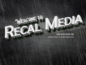 old time movie style welcome to recal media 1rd