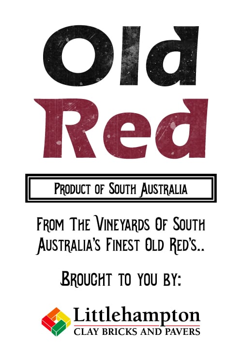 old red label 3