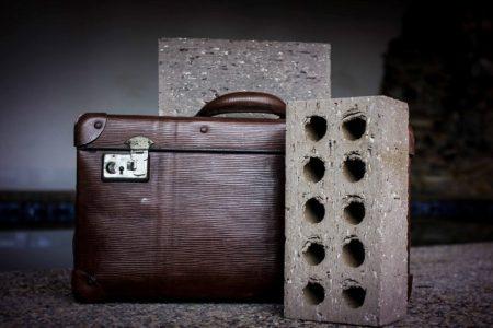 Ash Brick Paver suitcase rd