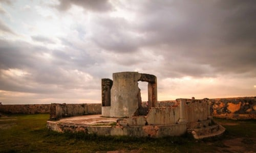 Galle Ruin structure