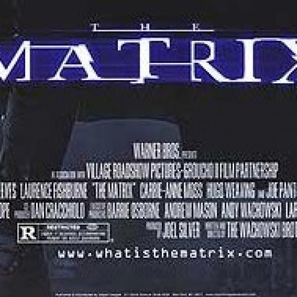 matrix poster credits