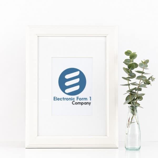 E-form 1 frame mockup reduced