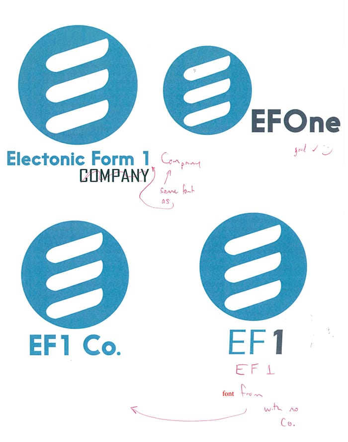 e form logo adjustments RD