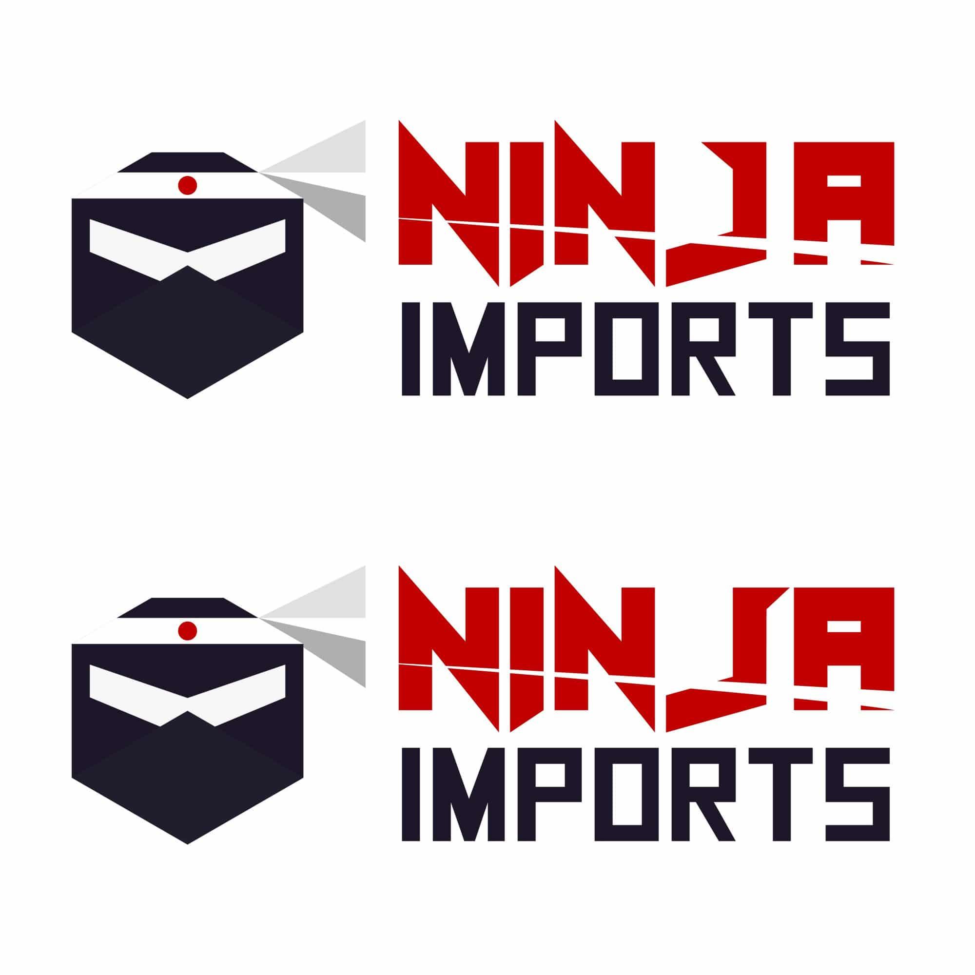 Ninja Imports logos with mascots 3