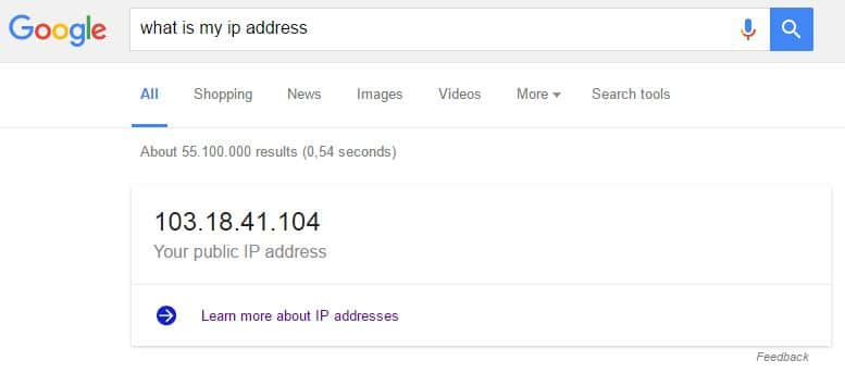 proxy ip address active