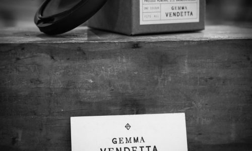 Gemma Vendetta 9 (square) BW rd