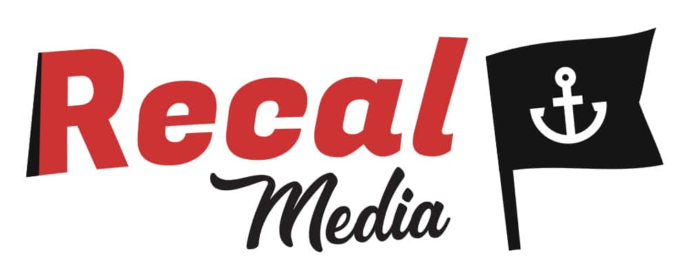 Recal Media long logo