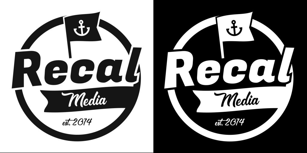 recal media mono-clour black and white versions rd