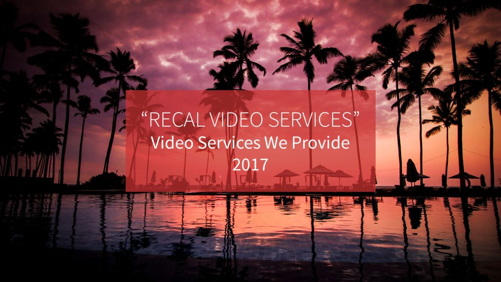 2017 Recal Media Video Services Reel