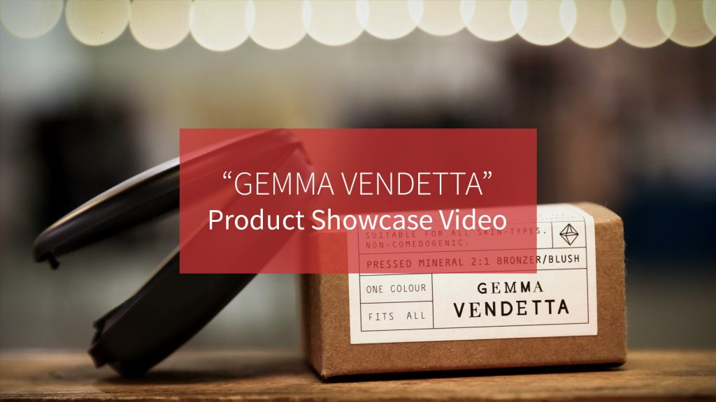 Gemma vendetta product video production australia