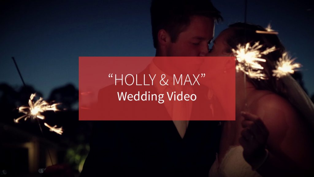 Holly and Max Wedding Video Production by Recal Media Adelaide