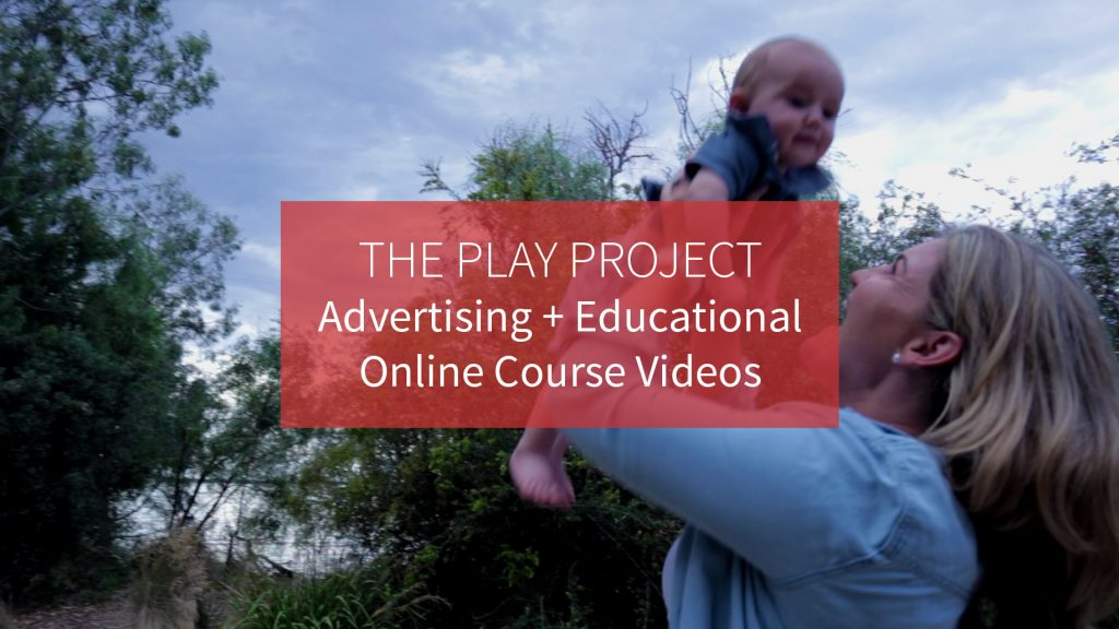 The Play Project Educational Online course video production 2
