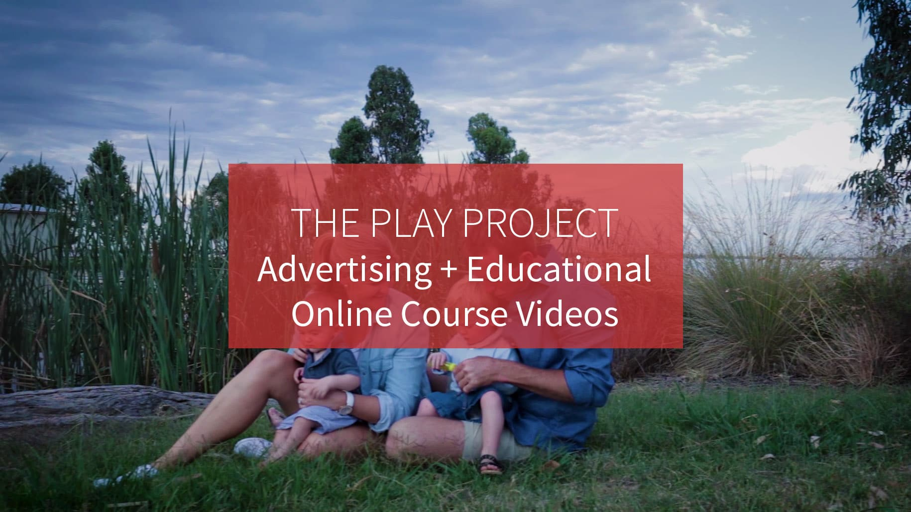 The Play Project Educational Online course video production