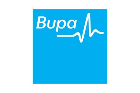 BUPA client logo