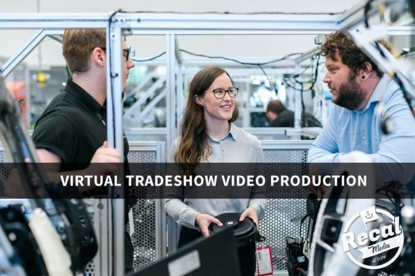 virtual tradeshow video production recal media
